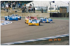 John Burton Chevron B19. International Supersports Cup. Coys Historic Festival at Silverstone 1993. (Antsphoto) Tags: classic car northampton britain historic 1993 sportscar motorsport autosport canam supersports motoracing antsphoto silverstonehistoricfestival anthonyfosh