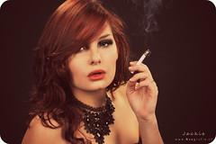 Smoke (Reografie) Tags: portrait woman cute sexy girl beauty studio model shoot makeup lovely portret studioportrait beautifull spijkenisse fotoshoot visagie studiolights studiofotografie studiofoto exellentphotos