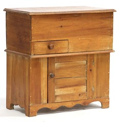 44. Antique Pine Dry Sink