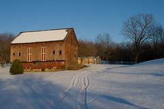 Late afternoon.... (tbower) Tags: winter ohio barn rural geotagged nikon raw nef farm country goldenhour cs5 massillonohio d3s starkcountyohio nikongp1 nikkor24120f4vr