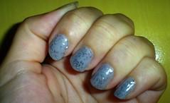Granulada Prateada (Caroline Vargas da Silveira) Tags: nail impala nailart unha esmalte risquê clubedoesmalte