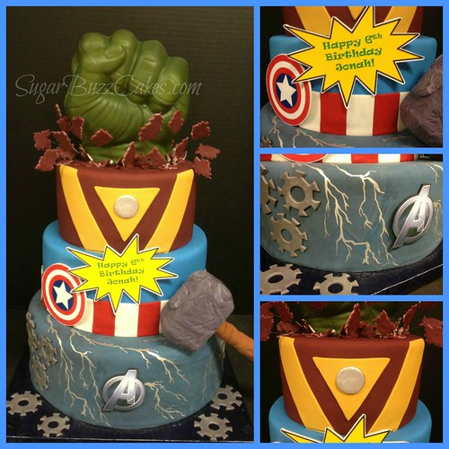 Flickriver Photoset boy birthday cakes by Sugar Buzz Cakes by Carol