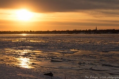 And you'll fade away... (Dom Roberge) Tags: winter ice river dawn hiver stlawrence coucherdesoleil glace fleuve contrecoeur soreltracy slaurent