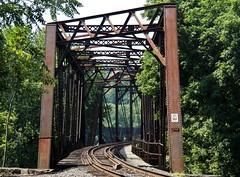 19th Century Steel Trusses (MissyPenny) Tags: railroad newjersey pennsylvania steel tracks bridges lehighvalley phillipsburg easton trainbridge delawareriver tunnelvision tunneleffect northhamptoncounty commonwealthpa pdlaich wschallengefive missypenny