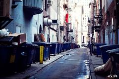 back alley (ExceptEuropa) Tags: street city usa color philadelphia spring alley pennsylvania pa canonef2470mmf28lusm 2012 canon5dmarkii