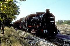 44055 + 55022  Gmsgr  20.10.82 (w. + h. brutzer) Tags: analog train turkey nikon eisenbahn railway zug trains steam trkei dampflok lokomotive eisenbahnen tcdd dampfloks webru gmsgr