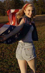 Viva America (Addison Wemyss) Tags: flowers autumn sunset summer sun fashion june america magazine stars spring warm photoshoot wind guess lace stripes flag july august headshot nike advertisement jeans american converse blonde fourthofjuly denim americaneagle fourth ae anthropology headband leggings highwaisted pacsun denime