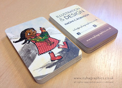 Business Card Designs by Naomi C Robinson (Hi Ni) Tags: cute art chicken graphicdesign artist olivia designer afroamerican illustrator custom businesscard blackgirl cardgame personalised forkids mailer memorycards characterdesign llustration promotionalmaterial forchildren roundedcorners moocards moobusinesscards moocom greetingcarddesign childrensbookillustrator artistpromo colouredgirl illustratorforhire forlicense artistbusinesscard childrensbookdesigner