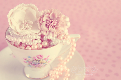 Cup of pearls..