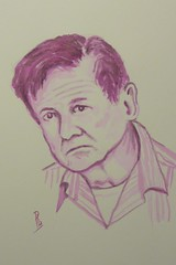 Carl Purcell (Fotero) Tags: retrato dibujo tinta jkpp