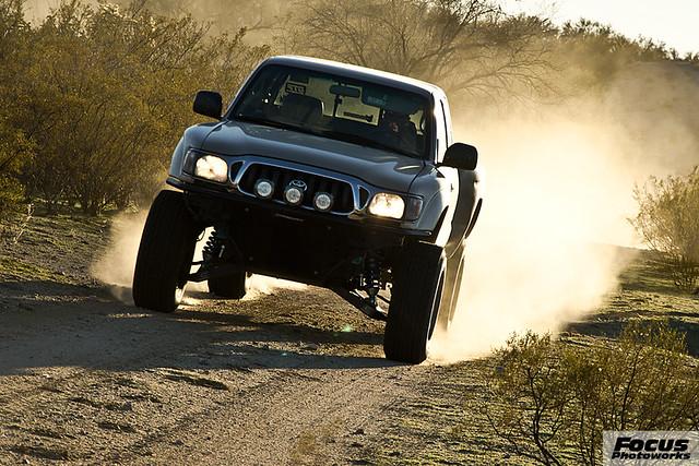 arizona truck offroad 4x4 toyota tacoma prerunner longtravel speedhunter