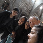 "Diyar, Ezgi, Esra, me, and Aysel touring around Diyarbakır <a style=""margin-left:10px; font-size:0.8em;"" href=""http://www.flickr.com/photos/59134591@N00/8541986838/"" target=""_blank"">@flickr</a>"