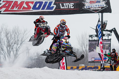 ISOC AMSOIL RAM Trucks Snocross (mwgiesbrecht) Tags: snow sports racing snowmobile skidoo polaris isoc snocross amsoil