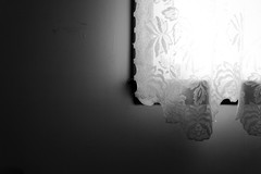 (corinnevelez) Tags: light shadow white window wall digital virginia lace williamsburg curtains canonxti august2009