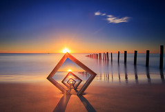 Frame in a frame Sunset (James Yu Photography) Tags: longexposure sunset big 5 au australia lee frame adelaide years another southaustralia stopper gnd moanabeach moanabeachsunset 詹姆斯视界