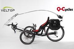 Rondane qt2 Trike (Q-Cycles) Tags: rot tricycle trike recumbent rondane ebike pedelec veltop etrike ral3020 qcycles qtserie modell2012
