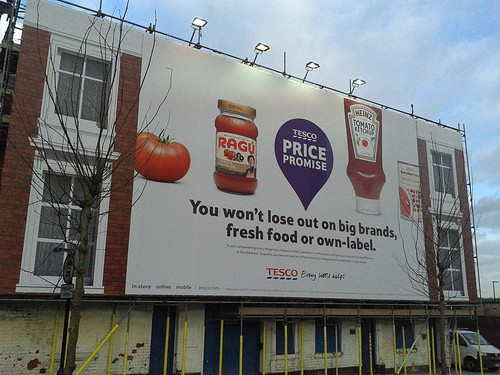 Christopher Wray billboard Tesco - Bartholomew Row