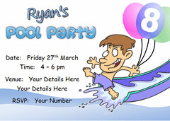 i109j pool party swimming (Locketmaid) Tags: show birthday girls boy party castle beach boys girl face kids painting balloons disco kid puppet slumber clown magic climbing invitation childrens invite bouncy sleepover invites invitations magician