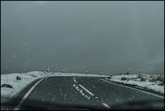 The Road Back Home (Rob Stacey Images) Tags: snow llanddeusant movingroad samsungnx1000