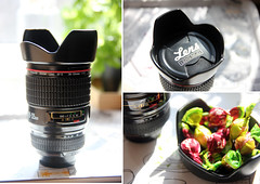 the coolest mug ever! (lorien_PL) Tags: lens triptych mug 1152 project52 lensmug