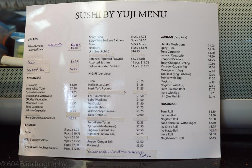 Sushi by Yuji