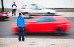 (Paul Nichols) Tags: road street city people motion blur west canon person eos bradford traffic yorkshire centre ef 24105l 5d2 5dmk2