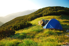 summer home (.:: Maya ::.) Tags: summer mountain tent bulgaria pirin
