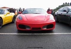 Ferrari F430 4.3 '05 (Falcon_33) Tags: street paris cars italia wheels engine autoshow ferrari salon gt lamborghini luxury supercar v8 v10 v12 exaust prestige sportcars dohc worldcars mondialdeparis iamthespeedhunter