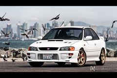 For the Birds (arminausejo) Tags: birds skyline sandiego subaru impreza sti jdm prodrive stoptech gc8