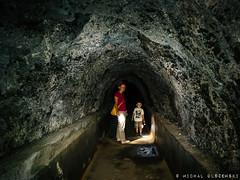 Water Tunnel in El Cedro. La Gomera (Adam 3.5y old) (Micha Olszewski) Tags: watertunnel landstructures lagomera tunnel civilengineering land canaryislands europe elcedro spain