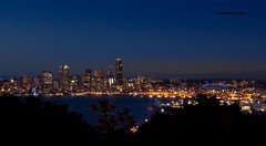 Seattle Sky (jeanmarie shelton) Tags: jeanmarieshelton jeanmarie city cityscape nikon nightsky night sky outdoors outdoor water pugetsound landscape sunset