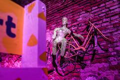 Bike My Day! (Cortez_CRO) Tags: osijek croatia hrvatska pannonian pannonianchallenge pannonian2016 wall bike bicycle art ngc