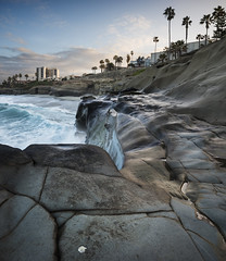 san diego : la jolla (William Dunigan) Tags: san diego la jolla sunrise cove southern california seascape shoreline early morning dawn rock formation color photography nikon d800 william dunigan united states southwest