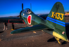 A6M3 Zero (Mule67) Tags: 2016 oregon international air show a6m3 zero airplane wwii