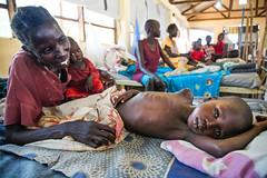 Humanitarian crisis in Aweil (Albert Gonzalez Farran) Tags: iom ocha southsudan camp chlildren conflict famine humanitariancrisis hunger malnutrition victims war aweil