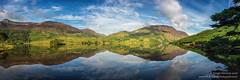 Nature's Mirror (srhphoto) Tags: 2016 crummockwater lakedistrict m43 mellbreakfell microfourthirds mountains panasonic panasonicdmcgx8 reflections allerdaledistrict england unitedkingdom gb