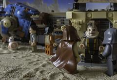 Get Me That Droid (LegoLee) Tags: bb8 bradbury jakku sand starwars unkarplutt droid firstorder luggabeast desert
