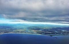 Silver lining (DJSPhotographi) Tags: cityscape photography landscape inflight seascape clouds goldcoast australia skyline