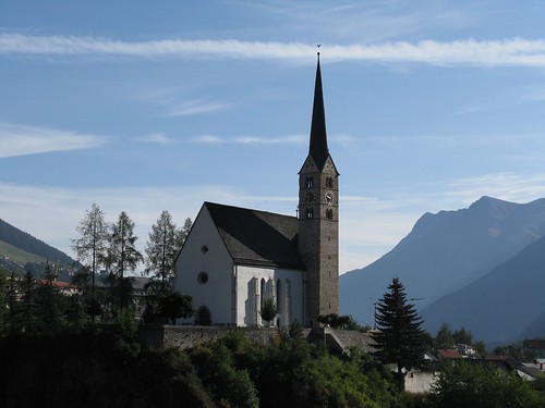 church in Scuol