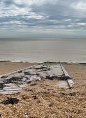 Kingsdown - Kent (jcbkk1956) Tags: wood slipway beach nikon coolpix4300 kingsdown kent eastkent sea shingle stones seaweed seascape englishchannel pov worldtrekker