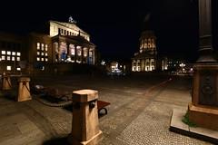 Gendarmenmarkt (Pascal Volk) Tags: berlin wideangle weitwinkel superwideangle superweitwinkel ultrawideangle ultraweitwinkel ww wa sww swa uww uwa canoneos6d canonef1635mmf4lisusm rodenstockndfilter8x nacht night mitte berlinmitte 16mm