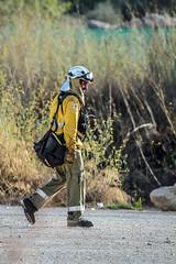 Mision cumplida , buen trabajo (ibzsierra) Tags: ibiza eivissa baleares canon 7d 100400isusm bomberos ibanat incendio forestal