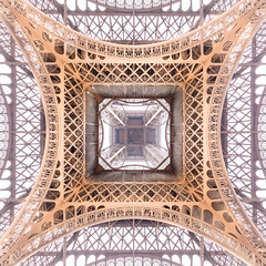 Under the skirt of the Iron Lady (Loc Lagarde) Tags: canoneos5dmarkiii pariscity pixalib architecture champsdemars eiffeltower instagram net pattern top toureiffel