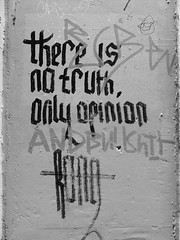 There is no truth, only opinion, Bristol (duncan) Tags: bristol