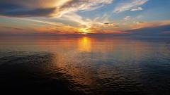Brilliance (1 of 1) (amndcook) Tags: greatsandbay keweenaw landscape michigan outdoors sunset water greatlakes lakesuperior nature shoreline upperpeninsula