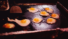 Eggies (Spare Change Photography) Tags: eggs chicken egg fried food foodies documentary street fetus grill hot cook chef culture asian yolk yellow white nostalgic vintage document