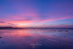 Serenity (Pastel Frames Photography) Tags: tyrellabeach northernireland sunrise colorfull beach sky cloud reflections nature morning outdoors landscape seascape