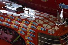 Route 66 Car Museum (Adventurer Dustin Holmes) Tags: 2016 route66carmuseum museum carmuseum automobilemuseum automotivemuseum museumsspringfield mospringfield route66 missouriroute66 1932 ford fordm1 hoodornament springfieldmo springfieldmissouri attraction attractions exhibit exhibits display automotive greenecounty missouri ozarks tourism destinations