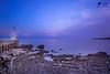 il faro solitario (lulo92) Tags: tramonto fao luc ligth sunset sunrise cloud clouds nuvole otranto lecce puglia viola purplu purple blu nuvoe samyang longexpositure lungaesposizione capture landscapes seascapes sea scogli rock wooow