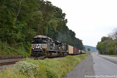 NS 1123 EMD SD70ACe (14R) (Trucks, Buses, & Trains by granitefan713) Tags: train freighttrain ns norfolksouthern railroad railfan emd electromotive sd70ace emdsd70ace mixedfreight manifest mixer buffaloline nsbufl